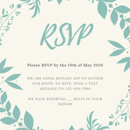 Fun Wedding Rsvp Card Wording: How To Nail Your RSVP Card Wording